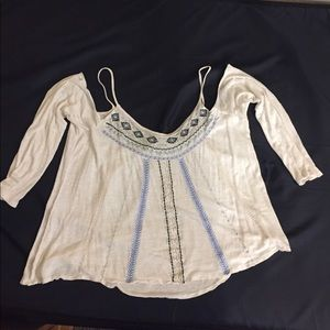 Charlotte Russe cold shoulder top